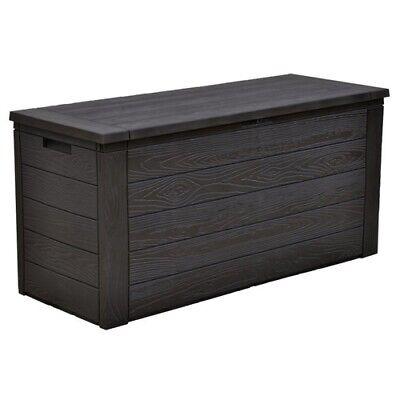 Aufbewahrungsbox Gartenkissenbox Auflagenbox Kissenbox Truhe Gartentruhe Woody