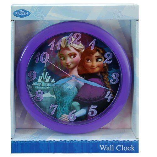 Disney-Frozen-Elsa-Anna-10-WALL-Clock-Brand-new-factory-boxed