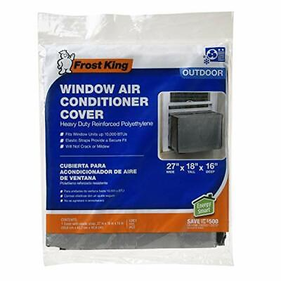 Used, Frost King AC2H Outside Window Air Conditioner Cover, 18 x 27 x 16-Inch for sale  Shipping to India