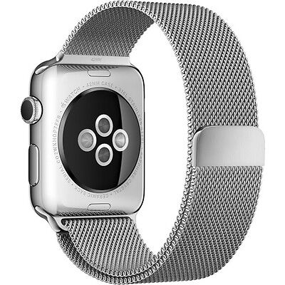 Genuine Apple Milanese Loop for Apple Watch 38mm Stainless Steel MJ5E2ZM/A *NEW*