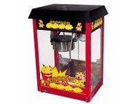 ----Popcorn machine ET-POP6A-B : 6-8 oz.,.,_--good quality,,,--
