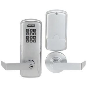 TWO SCHLAGE ELECTRONIC KEYLESS Door Locks