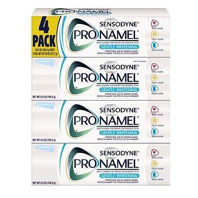 Sensodyne  Pronamel Toothpaste Gentle Whitening 4 pack 6.5oz each New In Box!!