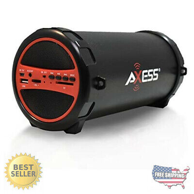 AXESS SPBT1031 Portable Bluetooth Indoor/Outdoor 2.1 Hi-Fi C