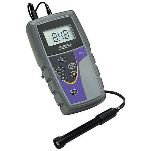 Oakton WD-35643-15 DO 6+ Dissolved Oxygen Meter w/Probe, Caps, NIST