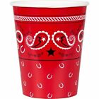 Cowboys & Western Party Cups