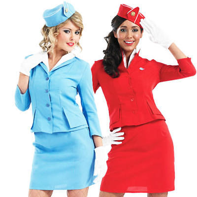 - Air Hostess Fancy Dress Kostüm