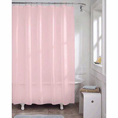 "Kashi Home Premium PVC Shower Liner, 70"" x 72"", Rose"