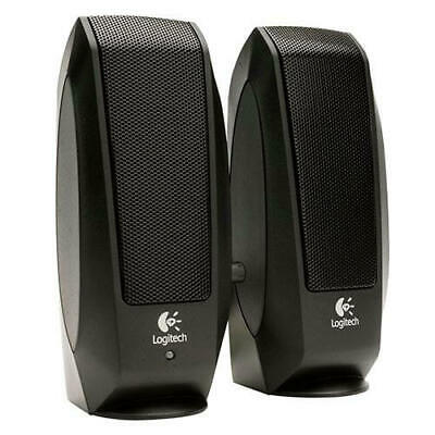 Altavoces para PC LOGITECH S-120 Canales 2.0 Potencia 2,2W Jack 3,5mm Negro