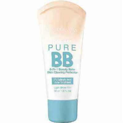 Maybelline Dream Pure BB Cream 8-in-1 Beauty Balm ~ Light/Medium, Medium OR (Maybelline Dream Pure Bb Cream Light Medium)