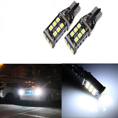 2x VW Scirocco 137 Bright Xenon White 3SMD LED Canbus Number Plate Light Bulbs