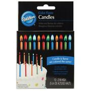 Color Flame Candles