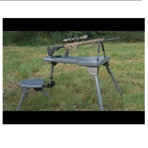 Caldwell Stable Table Lite Collapsible Rotating All-Weather Shooting Rest Seat
