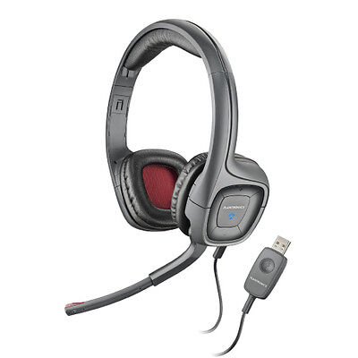 PLANTRONICS AUDIO 655 USB HEADSET PC GAMING HEADPHONES - Plantronics Usb Pc