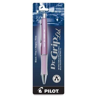 Pilot Dr. Grip Retractable Black Gel Pens Fine Point