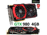 MSI GTX 980 4gb Graphics card