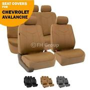 Avalanche Leather Seat Covers
