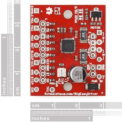 Big Easy Driver Board V1.2 A4988 Stepper Motor Driver Board 2aphase For 3d Prin