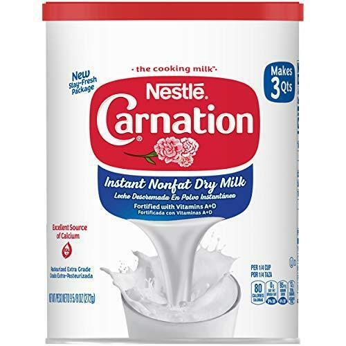 Carnation Instant Nonfat Dry Milk, 6 Count, 9.63 Ounce