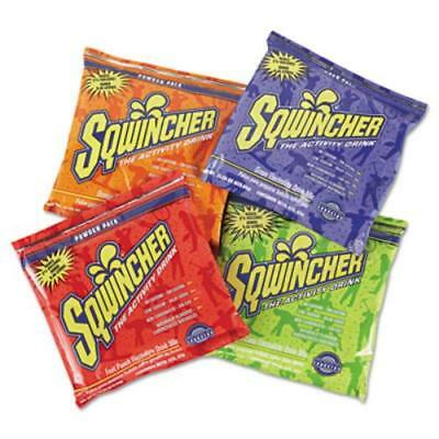 Sqwincher 016044-AS Powder Pack Concentrated Activity Drink, Assorted, 23.83 Oz