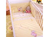 Izziwornot Primrose Princess cot bedding set