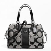 Coach Black White Handbag