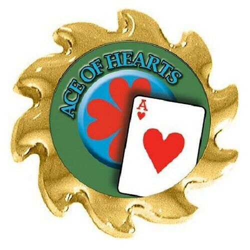 ACE OF HEARTS Spinner Poker Guard Cover Protector