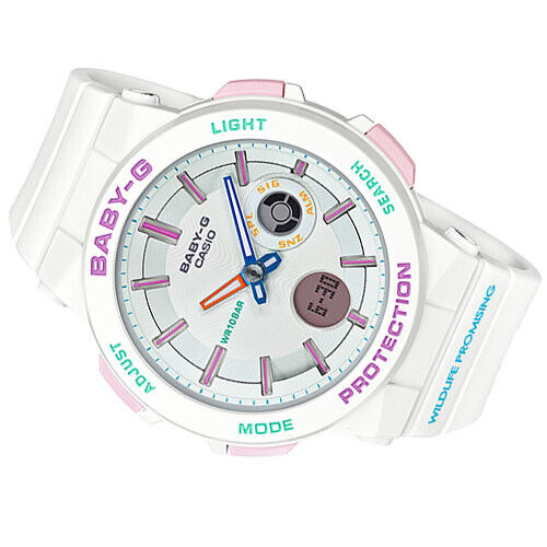 Casio Baby-G Wildlife Collaboration Limited White Resin BA255WLP-7A BA-255WLP-7A