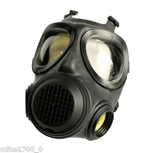Brand New Forsheda NBC Respirator Mask A4 F2 Civilian Military Made Respirator