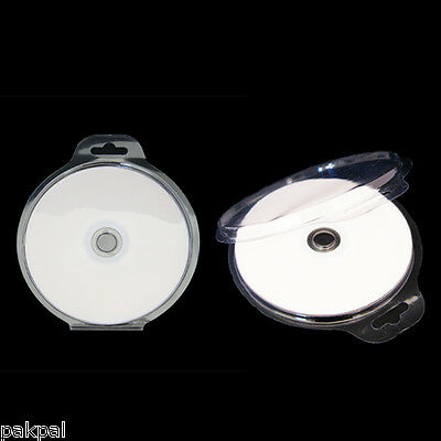 6000 SUPER CLEAR BLISTER PLASTIC CD DVD CLAMSHELL CASES, BL-BCSC100, WHOLESALE
