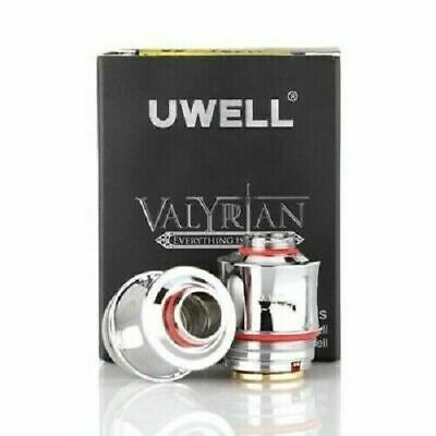 UWell Valyrian Coils 0.15 ohm Genuine Replacement Coil Heads 95-120W - UK Fast