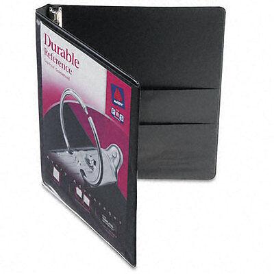 Avery Durable Vinyl Ez-turn 3-ring Binder 11 X 8-12 12 Black - Ave17001
