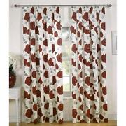 Red Poppy Curtains