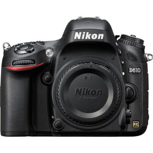 Nikon D610 DSLR Camera (Body Only) Black 1540