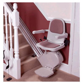 STANNAH STRAIGHT STAIR LIFT FOR SALE USED COLLECTION ONLY BOLTON