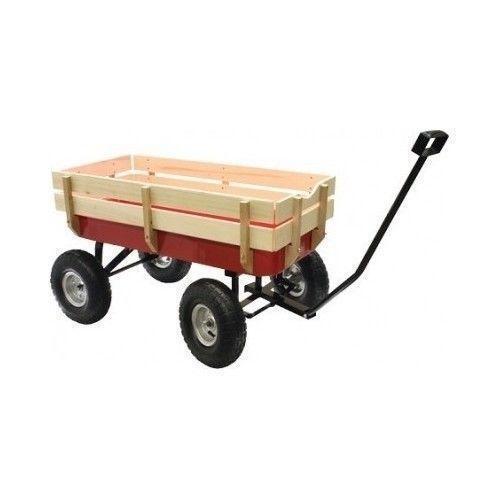 Red Wood Wagon Toys Amp Hobbies Ebay