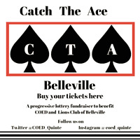 Catch The Ace Belleville- $1,000.00 Jackpot