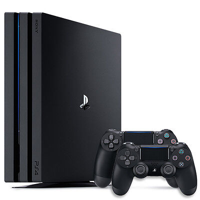 Sony PlayStation 4 Pro - 1TB System + DualShock 4 Controller Bundle