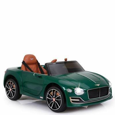 Auto elettrica bambini Bentley con luci led Macchina elettrica con batteria 12V
