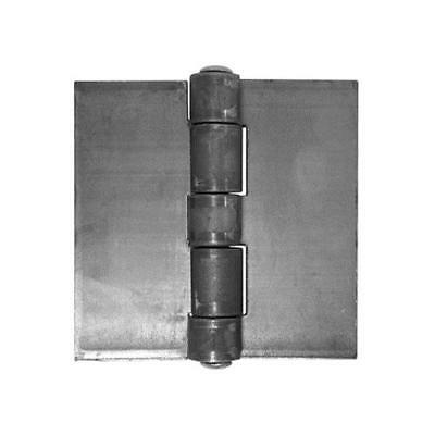 Weld On Wide Throw Hinges - Extra Heavy Duty Steel - 6