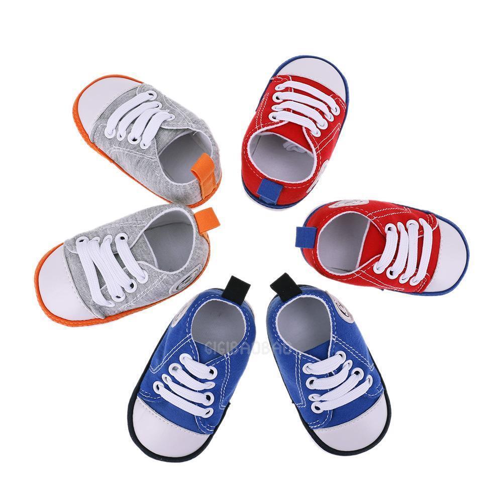 Newborn Infant Baby Girl Boys Shoes Soft Bottom Football Toddler Prewalker Shoes