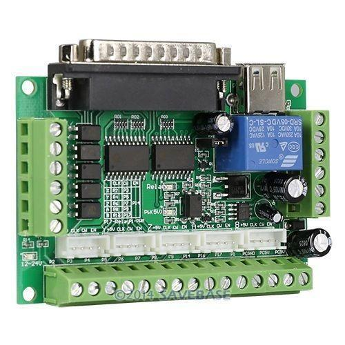 Stepper motor driver usb ebay for What is a stepper motor controller