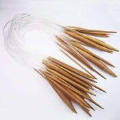 Bamboo Knitting Needles Set