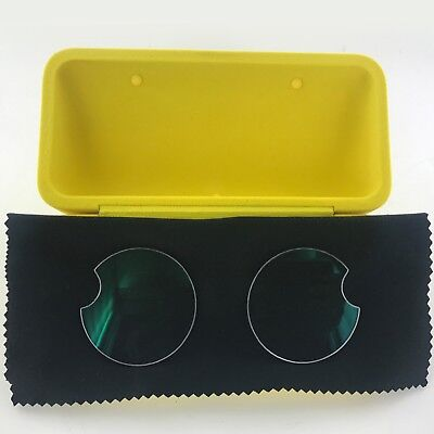 Plano (non-Rx) Clear Lenses For Snapchat Spectacles <Spectacles NOT Included>