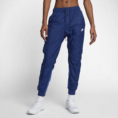 Men's Nike Sportswear Wind Runner Jogger Pants Size M L XL Blue (898403 456)