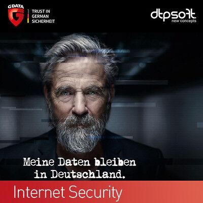 Gebraucht, G DATA Internet Security 1 PC 2019 VOLLVERSION GDATA Upgrade 2018 DE EU gebraucht kaufen  München