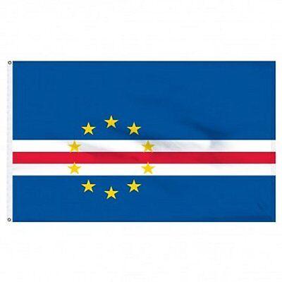 Cape Verde Nylon - Cape Verde Nylon Flag 4'x6'