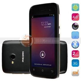 Phicomm Android 4Inch Smartphone C230W - Dual Core 1.3GHz [4GB] 1GB RAM Dual Sim