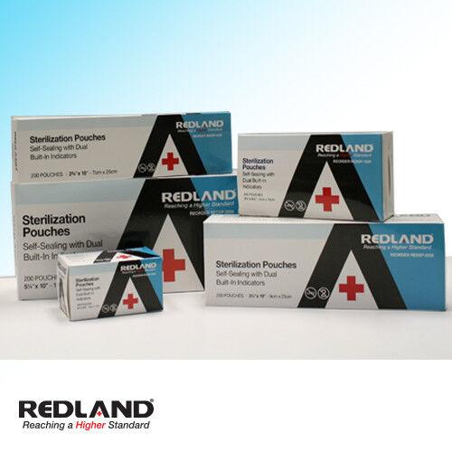 200-16000 Pcs All Sizes With 4 Indicators Self-sealing Sterilization Pouches Fda