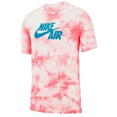 Nike S/S NIKE AIR TIE DYE T-SHIRT RED/WHITE/BLUE